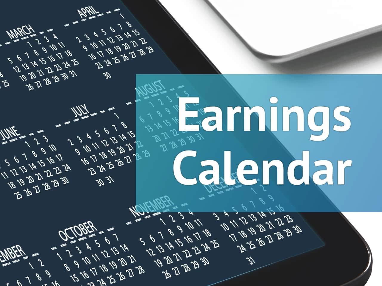 Earnings Calendar For The Week Of June 7 Alphastreet