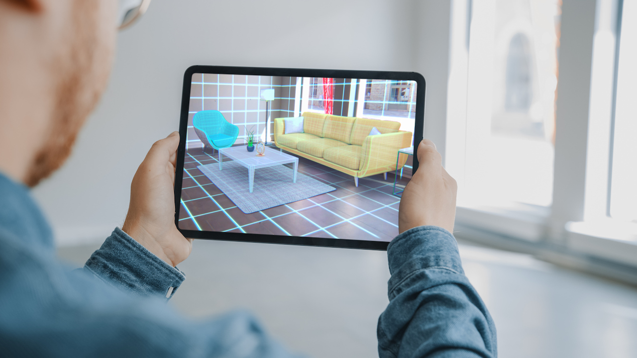 Augmented reality AR VR